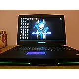 """Alienware 18 18.4"""" Overclocked i7 4930MX 4.3GHz NVIDIA SLI 780M 16GB 1600MHz RAM 256GB SSD 750GB HDD DVDRW Windows 8"""
