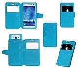 Elephone P8 Mini Hülle, KuGi Elephone P8 Mini Flip Bookstyle Kompletter Schutz Mit Magnetverschluss und Standfunktion Tasche Etui Cover Case Schutzhülle für Elephone P8 Mini Smartphone (Blau)