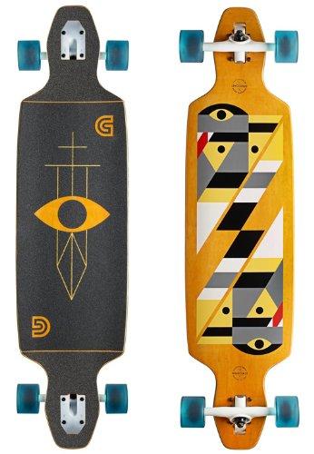 gold-coast-longboard-drop-through-serpentagram-tallayellow