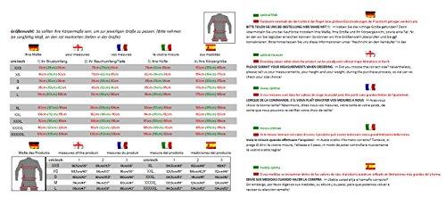 4LIMIT-Sports-Tuta-da-moto-completo-combinato-giacca-e-pantaloni-motivo-Laguna-Seca-in-pelle-giallo-nero-bianco