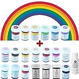 Wilton Icing Colors Lebensmittelfarben Spar-Set 6 x 28 g -