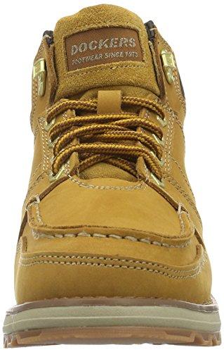 Dockers by Gerli 39TI007-302910, Chassures de randonée homme Jaune (Golden Tan 910)