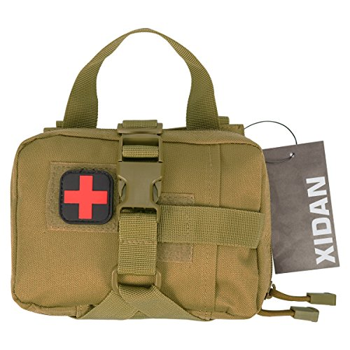 Xidan Bolsillo Medical EMT Desmontable Rápido, Bolsillo Táctico Mili