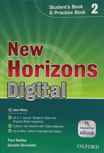 New horizons digital. Student's book-Workbook. Per le Scuole superiori. Con e-book. Con espansione online: 2