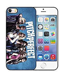 Pitch Perfect Iphone 5/5s Coque Etui Case, Novelty Print Background Protector Skin for Iphone 5 5s Cover for Men