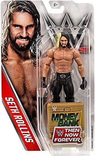 WWE, Basic Series, 2016 Then Now Forever, Seth Rollins Action Figure by Mattel