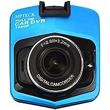 MPTECK @ LCD Cámara de Coche HD 1080P Videocámara DVR Vehículo Caja Negra Grabadora de Conducción para coche apoyo G-sensor , Detección de movimiento , Salida HDMI , Visión Nocturna