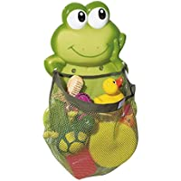 BABY-WALZ Aufräumnetz  Frosch  Badezubehör, grün