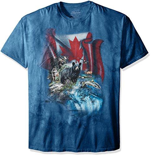 The Mountain Unisex Erwachsen Gr. 3XL Kanada's Wildtiere T Shirt (Kanada T-shirt Unisex)