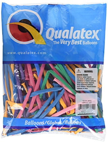 Qualatex 13769260 Ballons de sculpture AST100CT 0735343751752