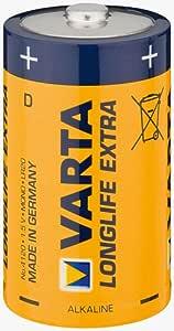 Battery Alkali Mono Lr 20 Vll 2 Bl Varta Longlife Computer Zubehör