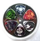 Rock Choisissez Des Sélections De Guitare/Plectres: (Paquet De 6 Médiators) Taille : 1,14 Mm