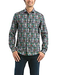 Desigual Mimi - Chemise casual - Taille normale - Manches longues - Homme