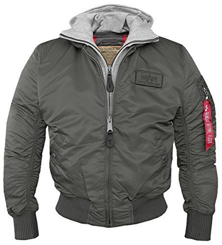 MA1 D-Tec Fliegerjacke rep.-grey - XL