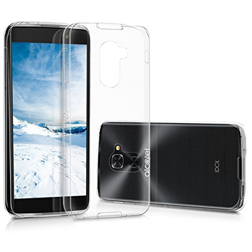 kwmobile Alcatel Idol 4S Hülle - Handyhülle für Alcatel Idol 4S - Handy Case in Transparent