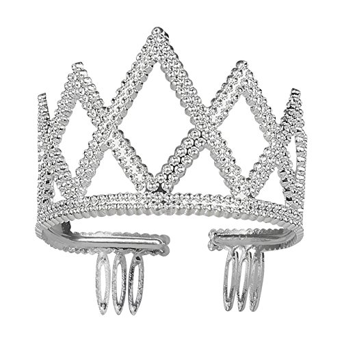 Boland 44074 Krone Estelle, Silber, One - Kostüm Ceremonie