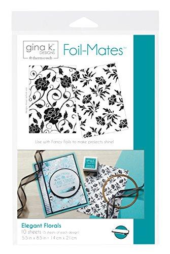 Unbekannt Gina K Designs Foil-Mates Background 5.5