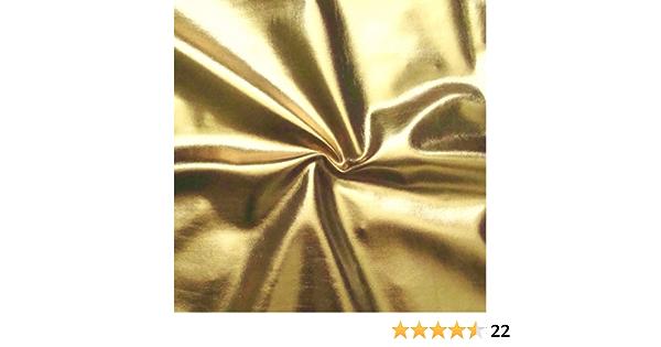 Folien Jersey Stretch Fasching Glanz Stoff mit Reptil Gold