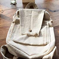 Mochila de tela hecha a mano totalmente lavable