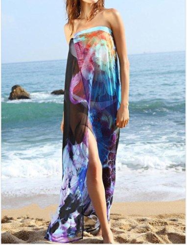 HONEYY Gaze bikini Bluse rock beach Super grosse Badeanzug weiblichen Strand Garn (ohne Bikini) durchschnittliche Code, B -