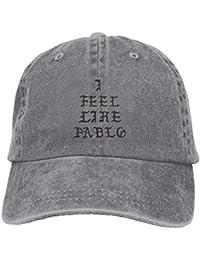 DIYoDGG I Feel Like Pablo Vintage Cowboy Baseball Caps Trucker Hats fddd55c81bb