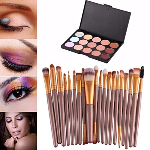 Malloom% AE Malloom 15 Colors Contour Face Cream Makeup Concealer Palette Professional 20