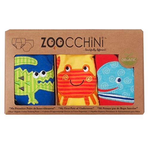 Zoocchini Ozean Trainers für Jungen 3-4Jahre (Bio-höschen)