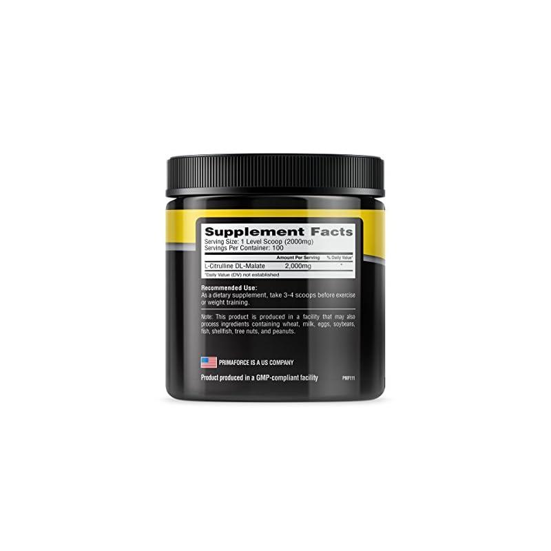 Primaforce Citrulline Malate, 200 g P2176