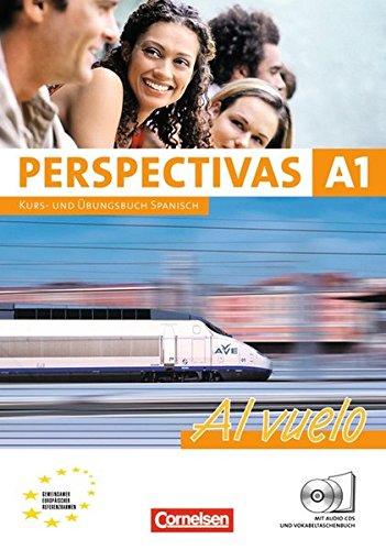 Perspectivas - Al vuelo / A1 - Kurs- und Arbeitsbuch mit Lösungsheft,