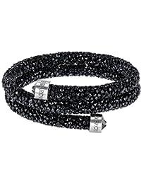 Armband Doppel Armreif Schwarz crystaldust Swarovski