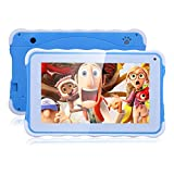 Excelvan 711 - 7 Zoll Kids Tablet PC (Android 4.4, 1024*600 pixel, A33 Duad core, 8GB ROM, dual Kamera, CAMS, WIFI) (blau)
