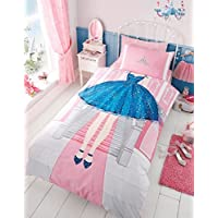 T&A Textiles and Hosiery Ltd Princess Single Duvet Cover and Pillowcase Set