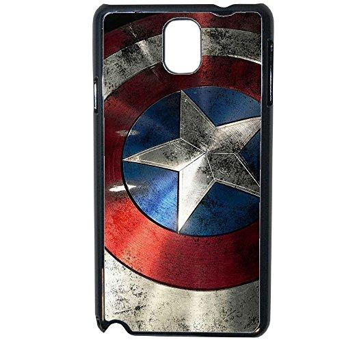 Ai prezzi cannoni-Etui Custodia Cover Marvel Comics Avengers Capitan America Samsung Galaxy Note 3
