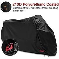 Funda para Moto 210D Funda Protector Cubierta de moto Impermeable a Prueba de Polvo Protector UV