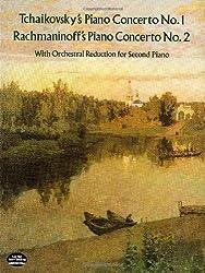 Tchaikovsky: Piano Concerto No.1/Rachmaninov: Piano Concerto No.2 (2 Piano Score) (Dover Music for Piano)