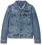 Tommy Hilfiger Jungen Jacke Trucker Jacket AUMBR, Blau (Authentic Mid Blue Rigid 911), 164 (Herstellergröße: 14)