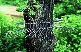 Katzenabwehrgürtel für Bäume bis ca. 70cm Stammumfang, Metallgurt für Bäume