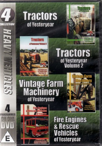 heavy-vehicles-4-programmes-on-one-dvd-tractors-of-yesteryear-vol-1-2-vintage-farm-machinery-of-yest