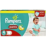 230 couches Pampers Baby Dry Pants Taille 4 Maxi (8-15-kg)
