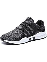ONENICE Mens Casual Lightweight Running Shoes Lace Up Runners Trainers Sport Sneakers