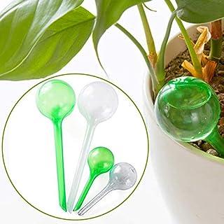 Acidea Bewässerungskugeln für Pflanzen, 6 Stück, automatische Selbstbewässerung, große und Kleine Kugeln aus PVC, Bewässerungssystem für Garten und Haus