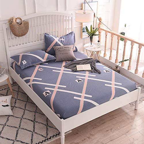 Hllhpc Für Neue Vier Jahreszeiten rutschfeste Bettdecke Kit Serie Einteilige Simmons Staubdicht Bettdecke 10 200 * 220 cm -