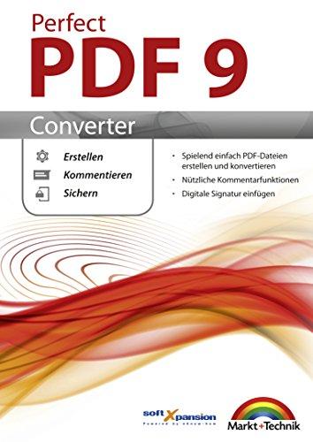 Perfect PDF 9 Converter - PDFs erstellen, konvertieren, schützen, Kommentare hinzufügen, Digitale...