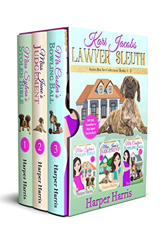 Kari Jacobs Lawyer Sleuth Cozy Mystery Series Box Set Collection: Books 1-3 (English Edition)