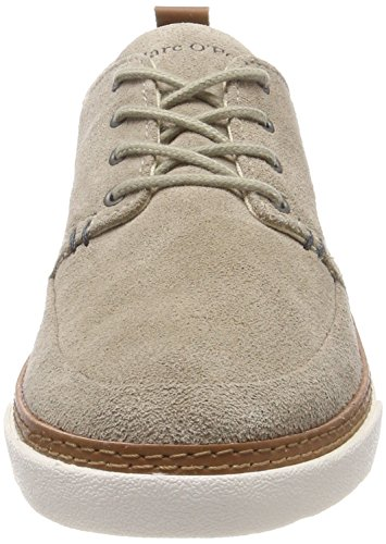Marc OPolo Herren Lace Up Shoe 80223803402300 Oxfords Grau (Taupe)
