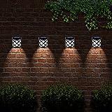 Solalite® 6 dekorative LED Garten-Solarleuchten, wetterfest.