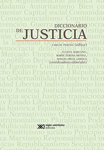 Diccionario de justicia (Diccionarios)