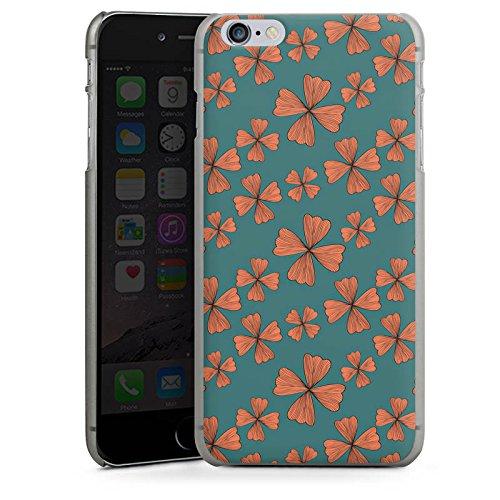 Apple iPhone X Silikon Hülle Case Schutzhülle Blumen Muster Flower Hard Case anthrazit-klar