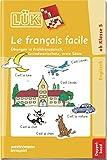 LÜK: Le francais facile Doppelband: Übungen in Frühfranzösisch, Grundwortschatz, erste Sätze