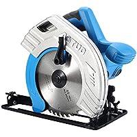 TOPQSC sierra circular eléctrica de alta potencia multifuncional sierras portátiles para trabajar la madera sierra de